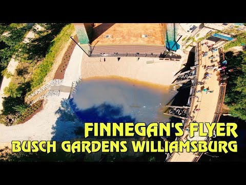 Finnegan's Flyer POV at Busch Gardens Williamsburg