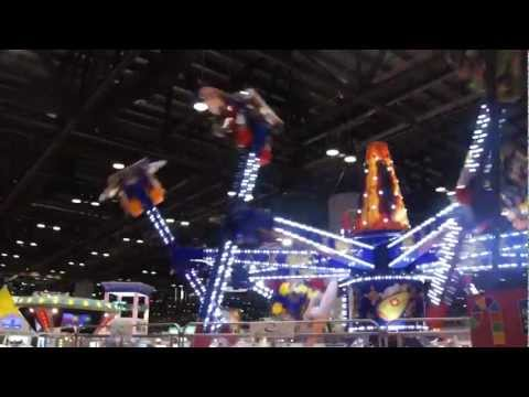 Air Race ride featured at the 2012 IAAPA Attractions Expo by Zamperla
