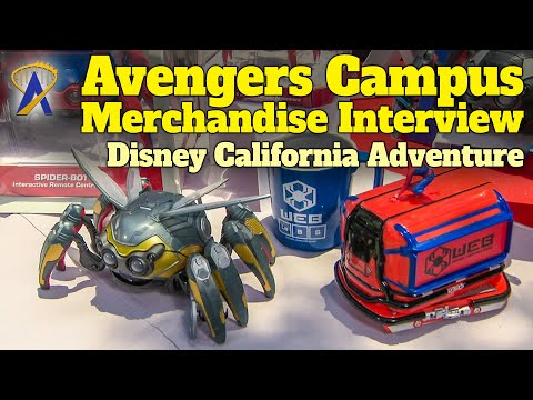 Interactive Avengers Campus Marvel Spider-Bot and Web Slingers Merchandise