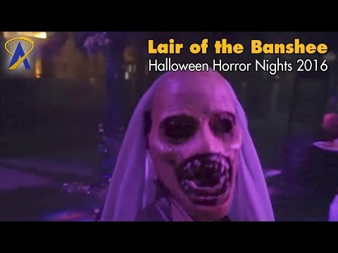 Lair of the Banshee Scare Zone for Halloween Horror Nights 2016 at Universal Orlando