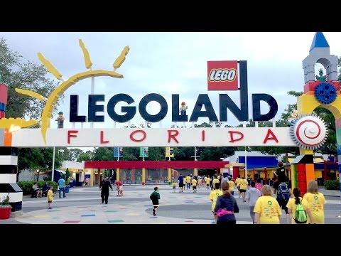 Brick Dash 5k course highlights at Legoland Florida Resort