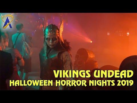 Vikings Undead Scare Zone at Halloween Horror Nights Orlando 2019