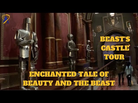 Beast's Castle Tour at Tokyo Disneyland - Enchanted Tale of Beauty and the Beast Queue