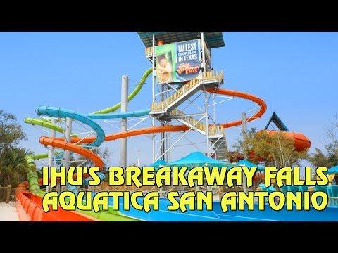 Tallest Multi-Tower Drop Slide in Texas - Ihu's Breakaway Falls Aquatica San Antonio