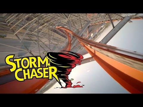Storm Chaser Roller Coaster POV at Kentucky Kingdom