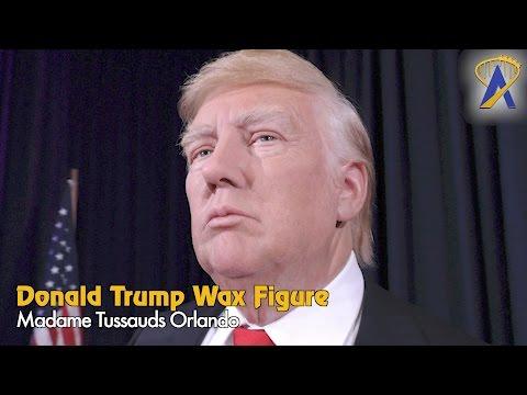 President Donald Trump wax figure added to Madame Tussauds Orlando