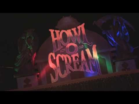 Howl-O-Scream 2010 Scare Zones opening weekend at Busch Gardens Tampa Bay