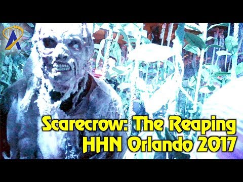 Scarecrow: The Reaping highlights from Halloween Horror Nights Orlando 2017