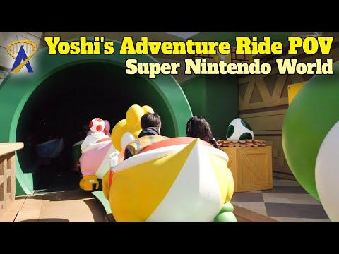 Yoshi's Adventure Full Ride POV at Universal Studios Japan