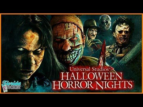 Florida E-Tick-or-Treat - 'Halloween Horror Nights Hollywood' - Oct. 15, 2016