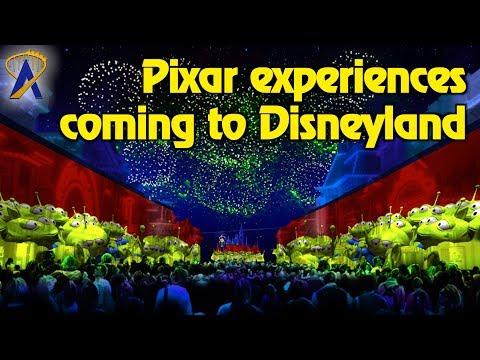 New Pixar Experiences coming to Disneyland in 2018