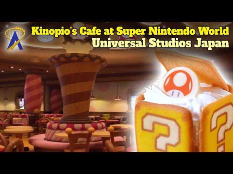 Kinopio's Cafe Food & Beverage Location in Super Nintendo World at Universal Studios Japan