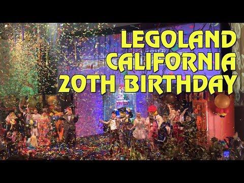 Legoland California Resort to celebrate 20th Anniversary in 2019