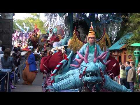 Full Mickey's Jingle Jungle Parade at Disney's Animal Kingdom