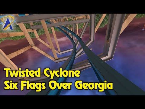 Twisted Cyclone Concept Animation and POV - Coming to Six Flags Over Georgia in 2018