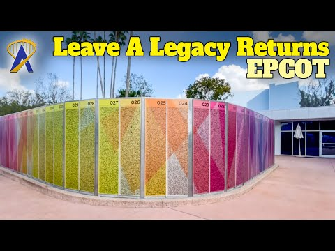 Epcot's 'Leave A Legacy' Walls Return With New Look