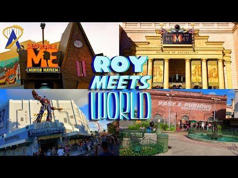 One Hour Universal Studios Florida Challenge - Roy Meets World