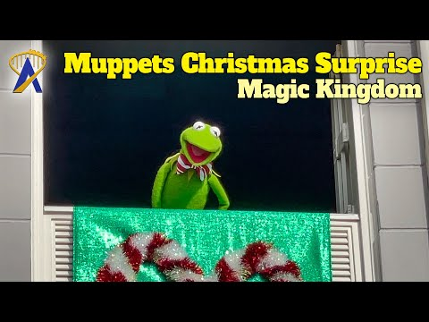 Muppets Christmas Surprise at the Magic Kingdom