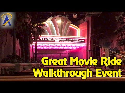Walk-through The Great Movie Ride during goodbye event from Disney Parks Blog