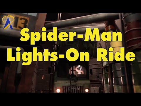 Lights-On Spider-Man Ride at Universal's Islands of Adventure