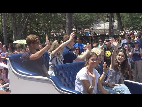 Disney Channel and Disney XD stars lead the parade during 24-hour event at Magic Kingdom