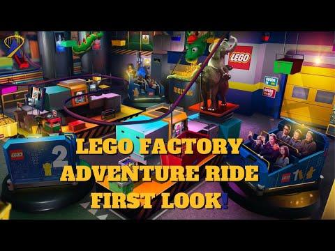 Lego Factory Adventure Ride Animation for Legoland New York