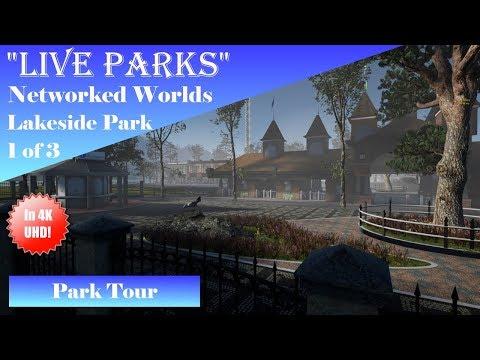 "New ""Live Parks"" Build! Part 1 of 3: Lakeside Park Tour In 4K UHD!"