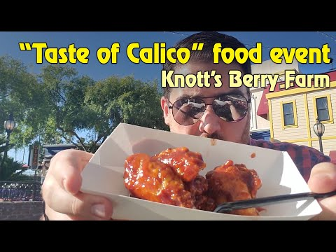 Our experience at Knott's Berry Farm for a Taste of Calico