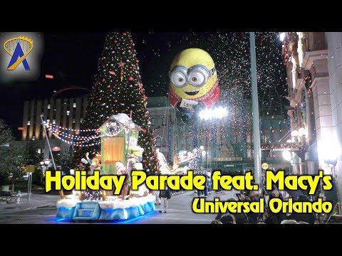 Universal's Holiday Parade featuring Macy's at Universal Studios Florida