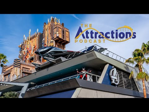 LIVE: The Attractions Podcast #90 - Avengers Campus, Seth is back, and more!