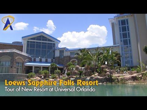 Tour of Loews Sapphire Falls Resort at Universal Orlando