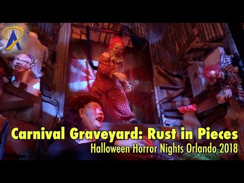 Carnival Graveyard: Rust in Pieces highlights from Halloween Horror Nights Orlando 2018