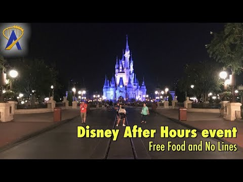 Free Food and No Lines during Disney After Hours at Magic Kingdom