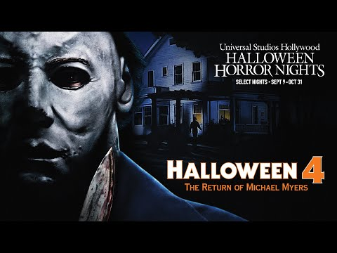 Halloween 4 Reveal | Halloween Horror Nights 2021 #UniversalHHN