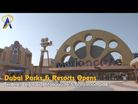 Dubai Parks & Resorts officially opens with three major theme parks