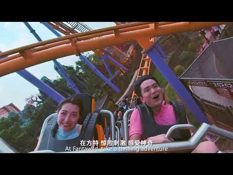 After 2 months lockdown, Fantawild theme park in Hubei reopened again.