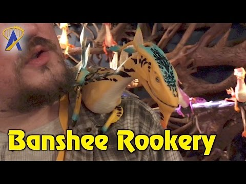 Banshee adoption at The Rookery inside Windtraders at Pandora - The World of Avatar