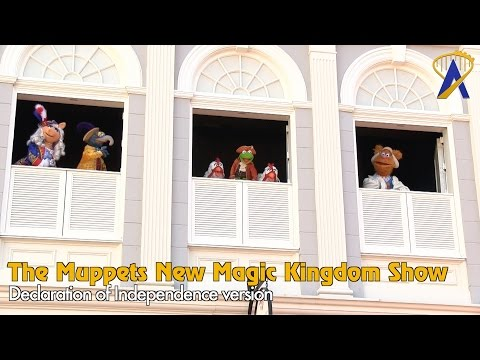 The Muppets Present Great Moments in American History - Full Declaration Show at Magic Kingdom