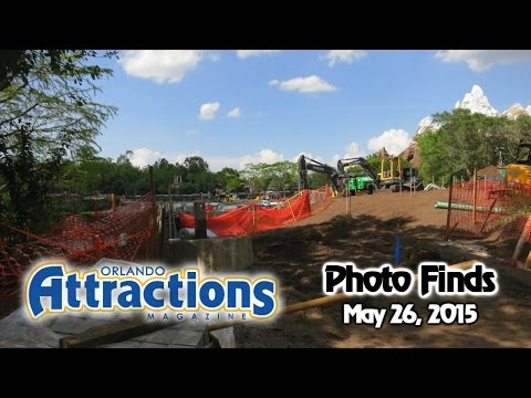 Photo Finds: Animal Kingdom construction and Star Wars Weekends
