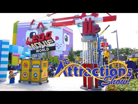 The Attractions Show - The Lego Movie World; Sesame Street at SeaWorld; latest news