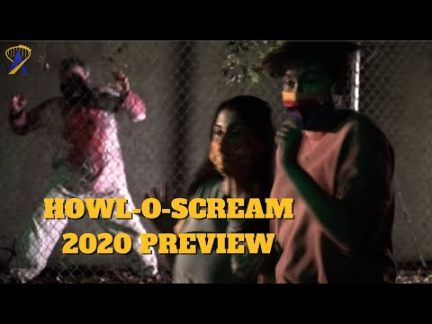 Howl-O-Scream 2020 Preview at Busch Gardens Tampa Bay