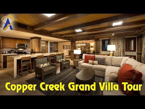 Grand Villa Tour in Copper Creek at Wilderness Lodge