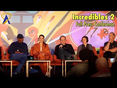 Disney•Pixar's 'Incredibles 2' - Full Press Conference