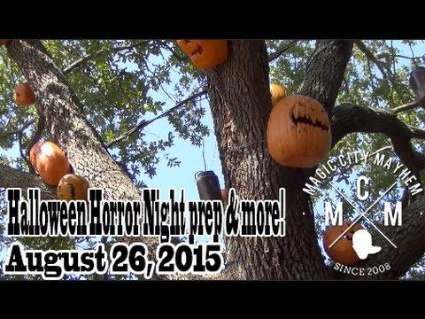 Magic City Mayhem: Halloween Horror Nights prep & more - Aug. 26, 2015