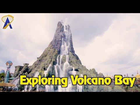 Exploring Universal's Volcano Bay Water Theme Park