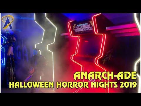 Anarch-cade Scare Zone at Halloween Horror Nights Orlando 2019