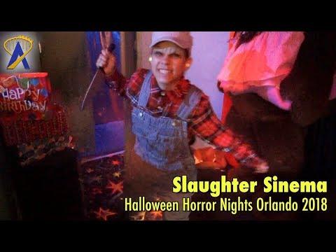 Slaughter Sinema highlights from Halloween Horror Nights Orlando 2018