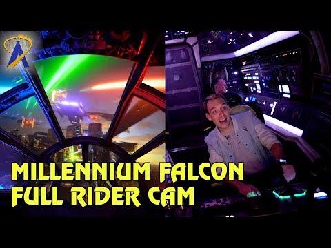 Millennium Falcon Rider Cam and POV Highlights at Star Wars: Galaxy's Edge
