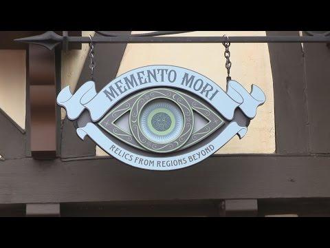 New Haunted Mansion store materializes - Inside Memento Mori at Magic Kingdom