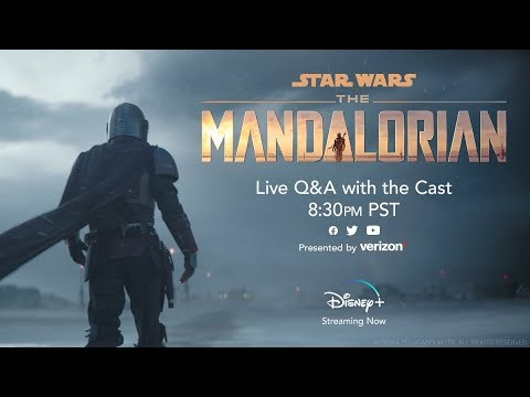 The Mandalorian   Live Stream Q&A